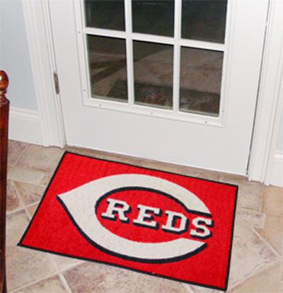 Cincinnati Reds 19in x 30in Starter Mat