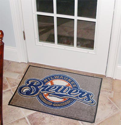 "Milwaukee Brewers 19"" x 30"" Starter Mat"