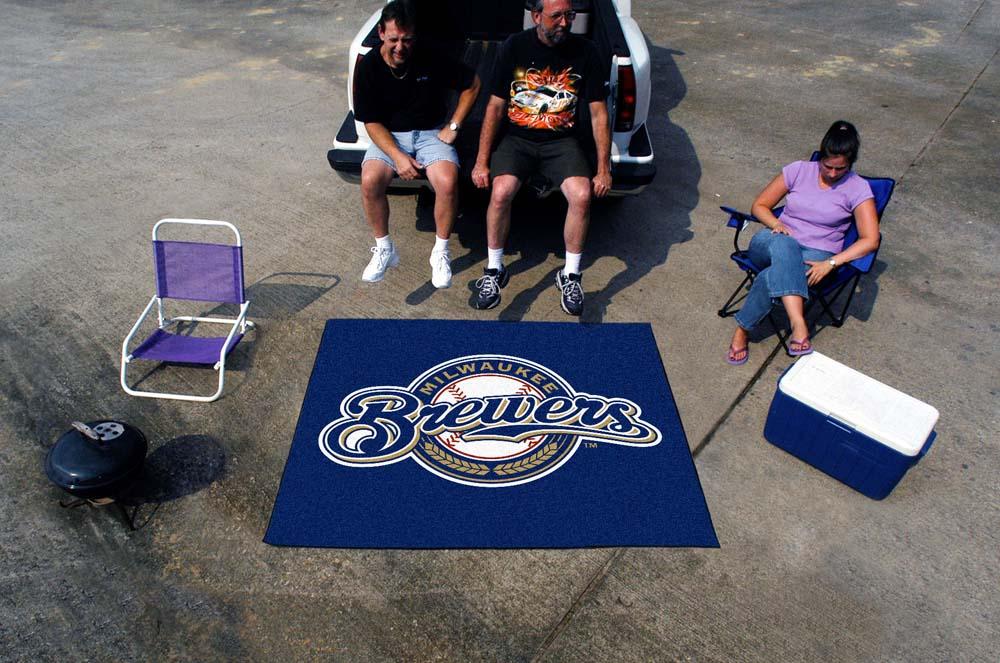 5' x 6' Milwaukee Brewers Tailgater Mat