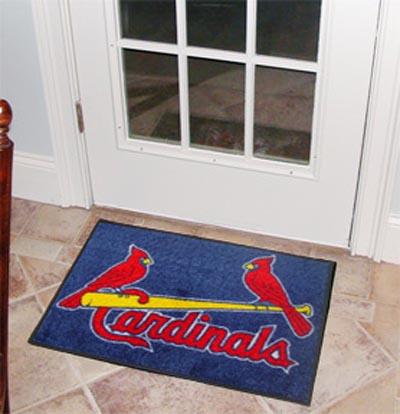 St. Louis Cardinals 19in x 30in Starter Mat