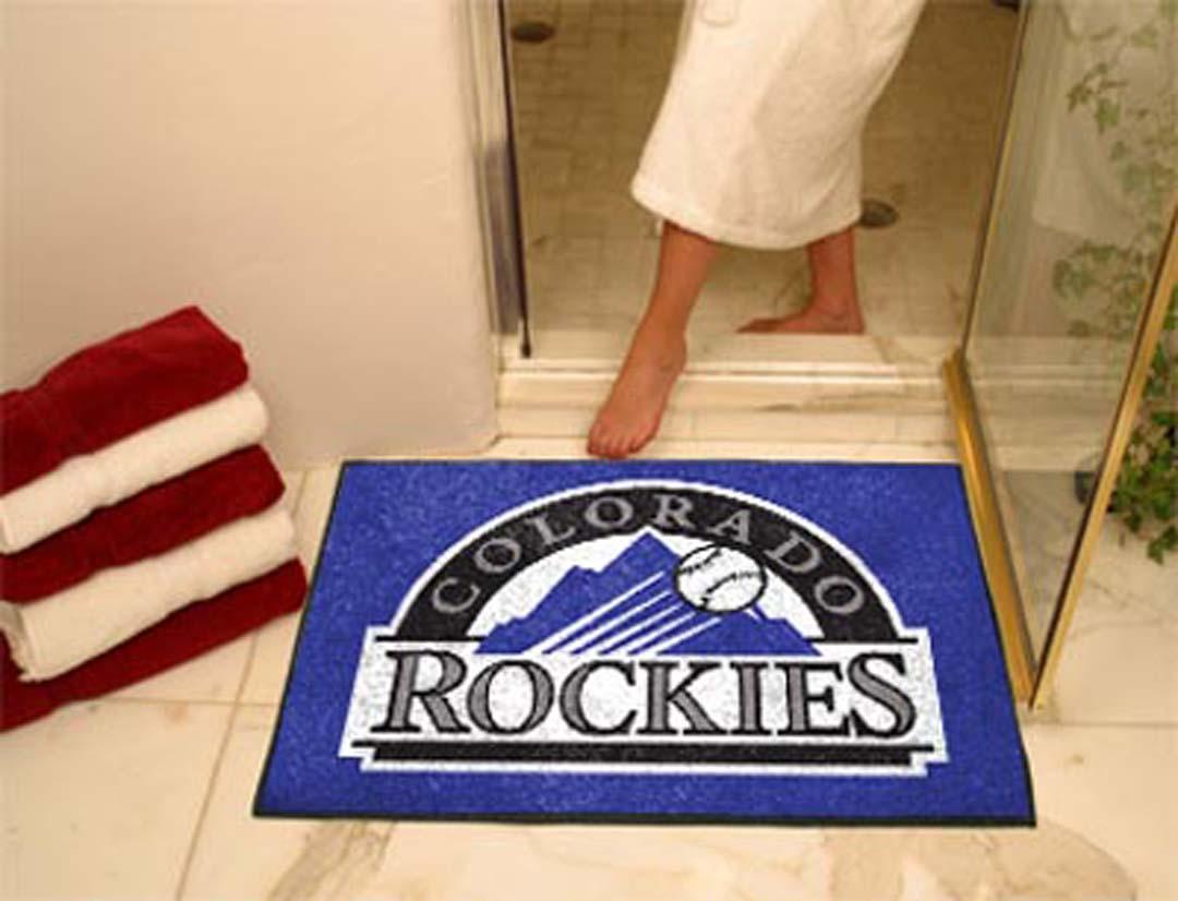 34in x 45in Colorado Rockies All Star Floor Mat