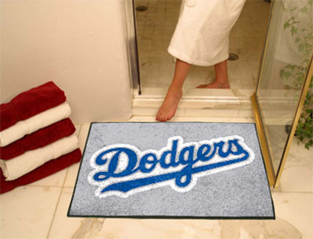 34in x 45in Los Angeles Dodgers All Star Floor Mat