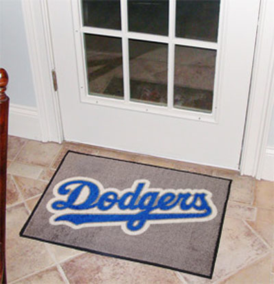 Los Angeles Dodgers 19in x 30in Starter Mat