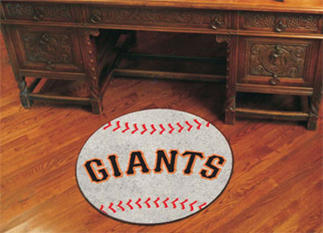 "27"" Round San Francisco Giants Baseball Mat - FAN-6539"