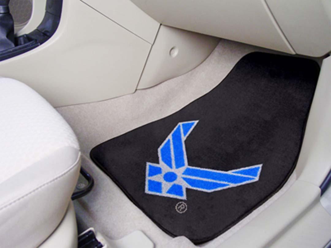 """U.S. Air Force 27"""" x 18"""" Auto Floor Mat (Set of 2 Car Mats)"""