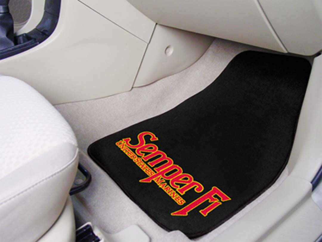 Click here for US Marines 27 x 18 Auto Floor Mat (Set of 2 Car Ma... prices