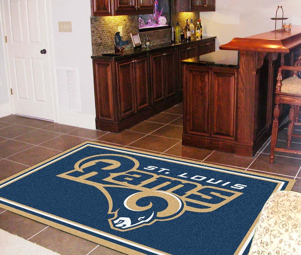 St. Louis Rams 5' x 8' Area Rug