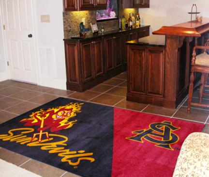 Arizona State Sun Devils 5' x 8' Area Rug FAN-6858
