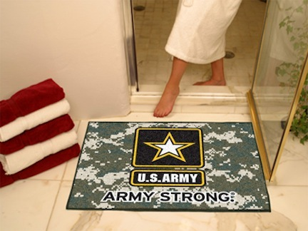 "Image of US Army 34"" x 45"" All Star Floor Mat"