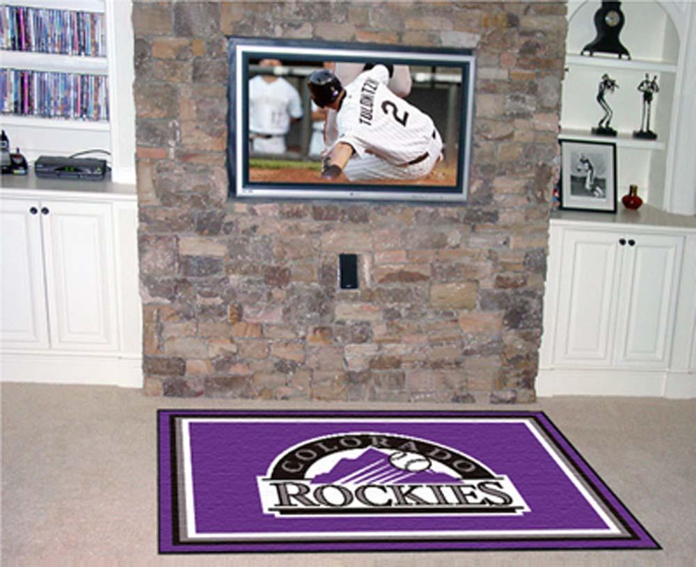 Colorado Rockies 5' x 8' Area Rug