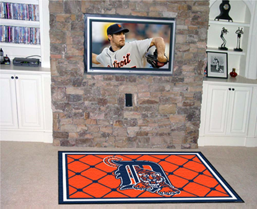 Detroit Tigers 5' x 8' Area Rug