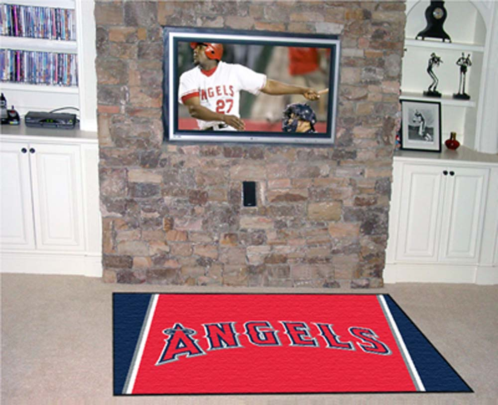 Los Angeles Angels of Anaheim 5' x 8' Area Rug
