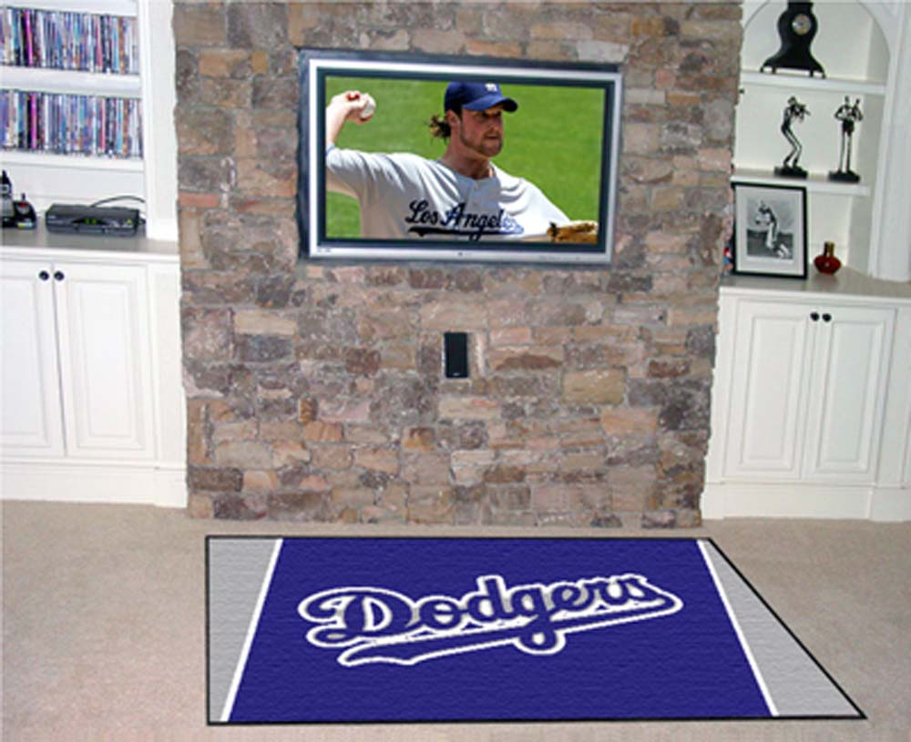 Los Angeles Dodgers 4' x 6' Area Rug