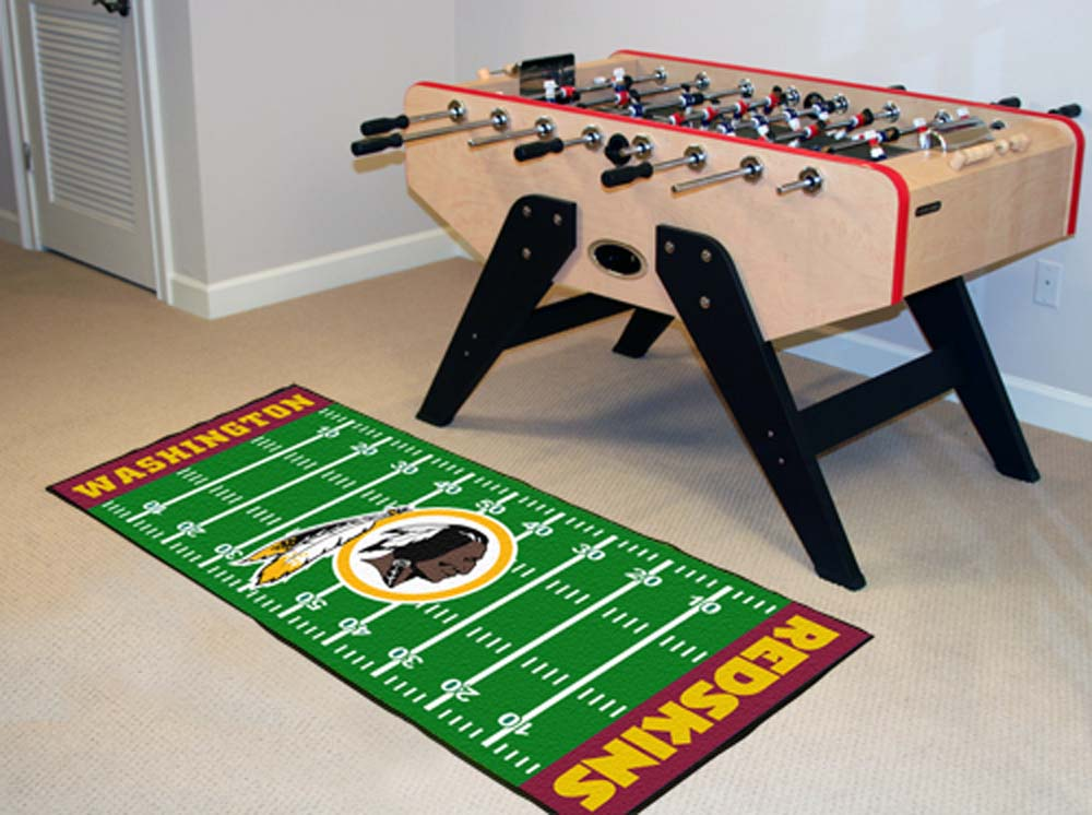 "Washington Redskins 30"" x 72"" Football Field Runner"