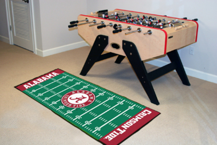 "Alabama Crimson Tide 30"" x 72"" Football Field Runner (Crimson 'A')"