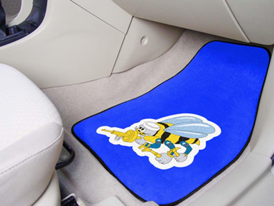 "US Navy Seabees 18"" x 27"" Auto Floor Mat (Set of 2 Car Mats)"