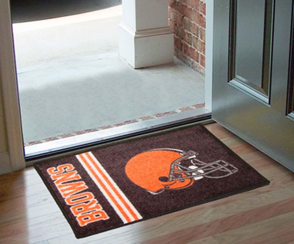 Cleveland Browns 19in x 30in Uniform Inspired Starter Floor Mat