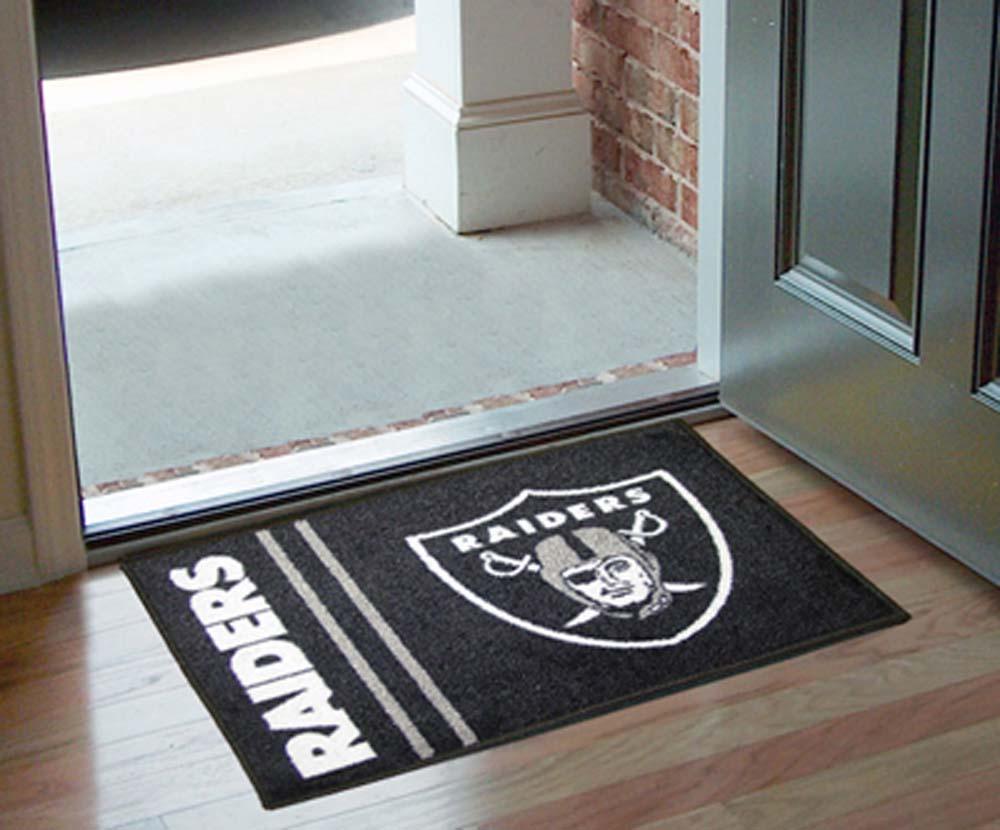 Raiders floor mat oakland raiders floor mat raiders for Oakland flooring