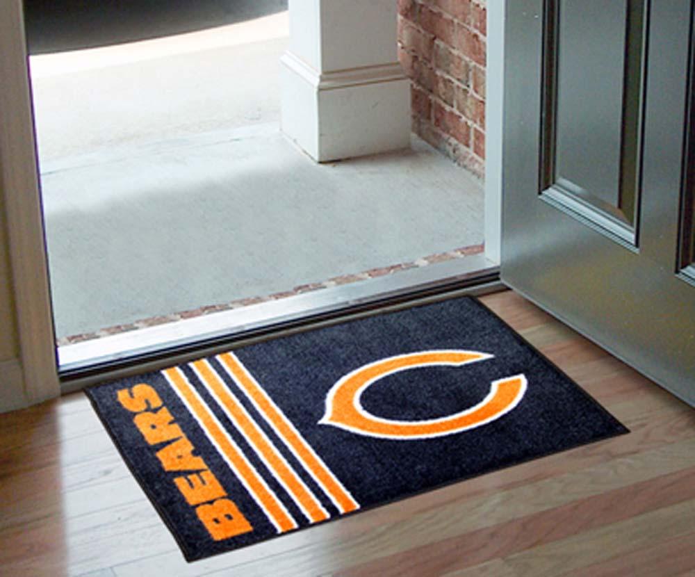 """Chicago Bears 19"""" x 30"""" Uniform Inspired Starter Floor Mat"""