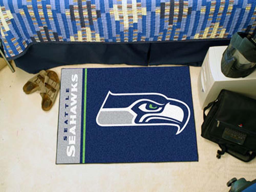 "Image of Seattle Seahawks 19"" x 30"" Uniform Inspired Starter Floor Mat"