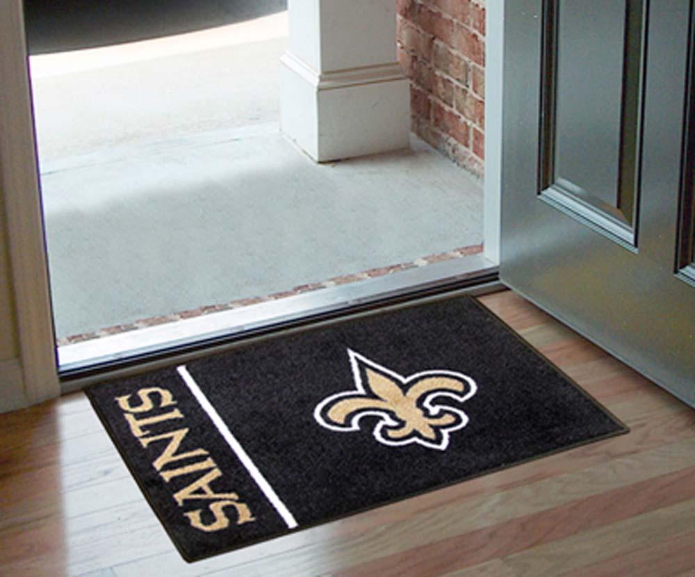 New Orleans Saints Floor Mat Saints Floor Mat Saints