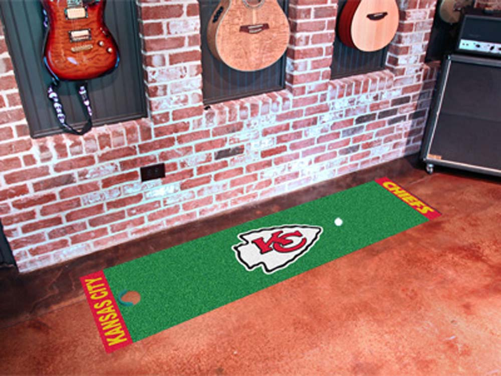 "Kansas City Chiefs 18"""" x 72"""" Putting Green Runner"" FAN-9016"