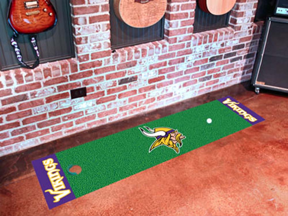 "Minnesota Vikings 18"""" x 72"""" Putting Green Runner"" FAN-9019"