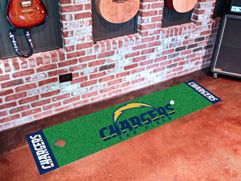 """San Diego Chargers 18"""""""" x 72"""""""" Putting Green Runner"""" FAN-9027"""