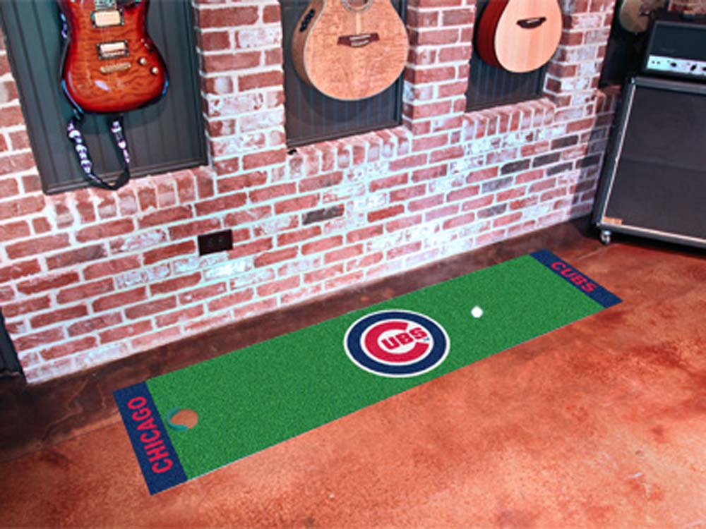 Chicago Cubs 18in x 72in Putting Green Runner