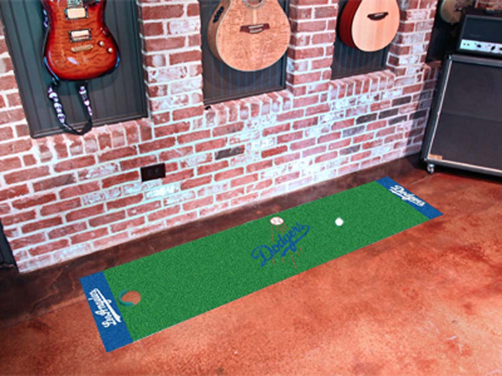 Los Angeles Dodgers 18in x 72in Putting Green Runner