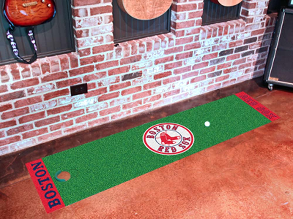 Boston Red Sox 18in x 72in Putting Green Runner