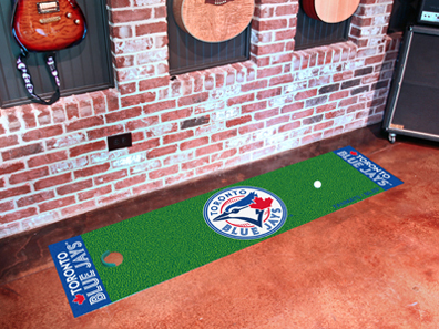 "Toronto Blue Jays 18"""" x 72"""" Putting Green Runner"" FAN-9059"