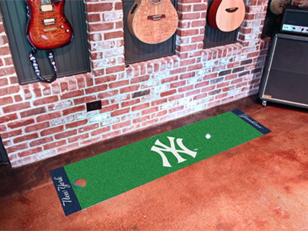 Fan Mats Mlb New York Yankees Putting Green Runner FAN-9062