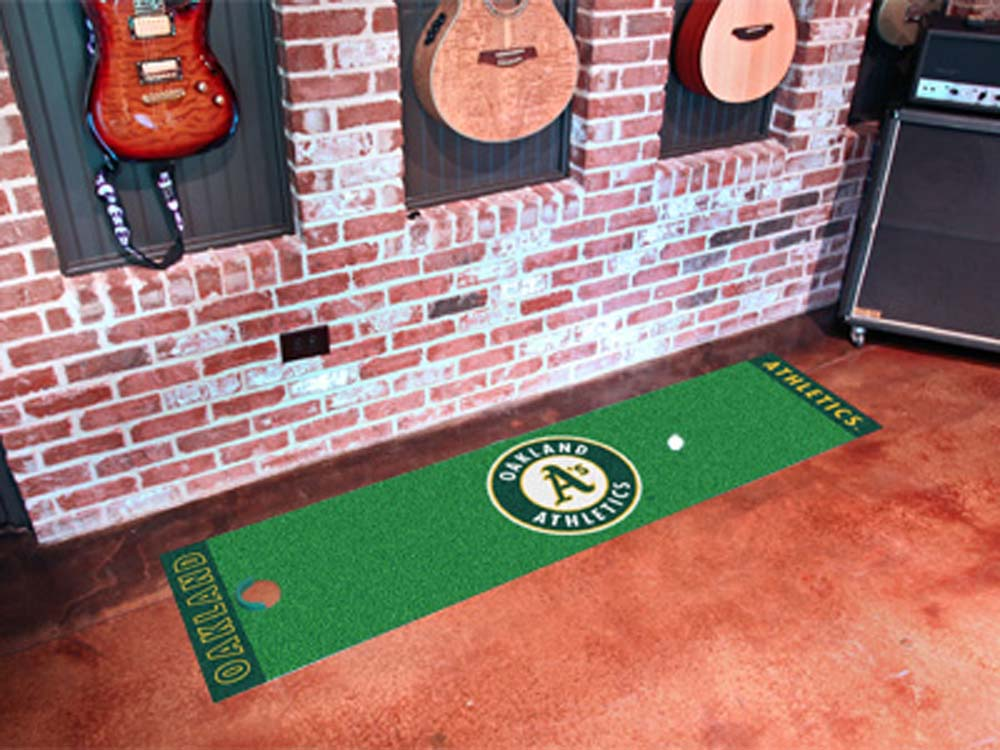 Oakland Athletics 18in x 72in Putting Green Runner