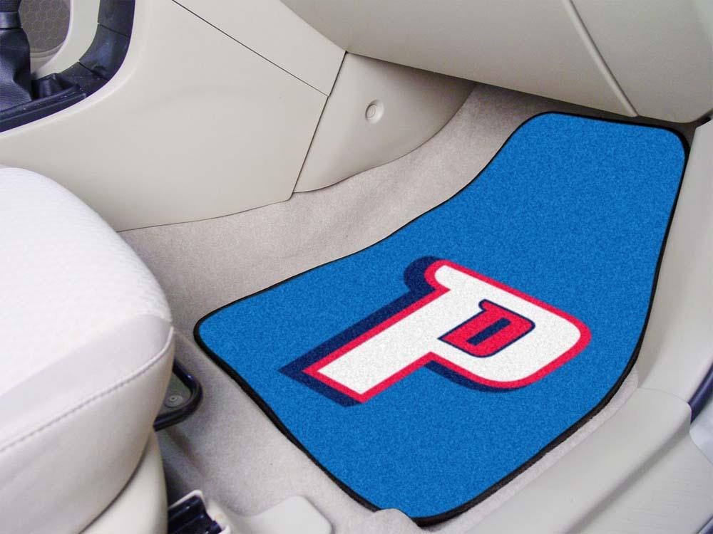 "Detroit Pistons 18"" x 27"" Auto Floor Mat (Set of 2 Car Mats)"