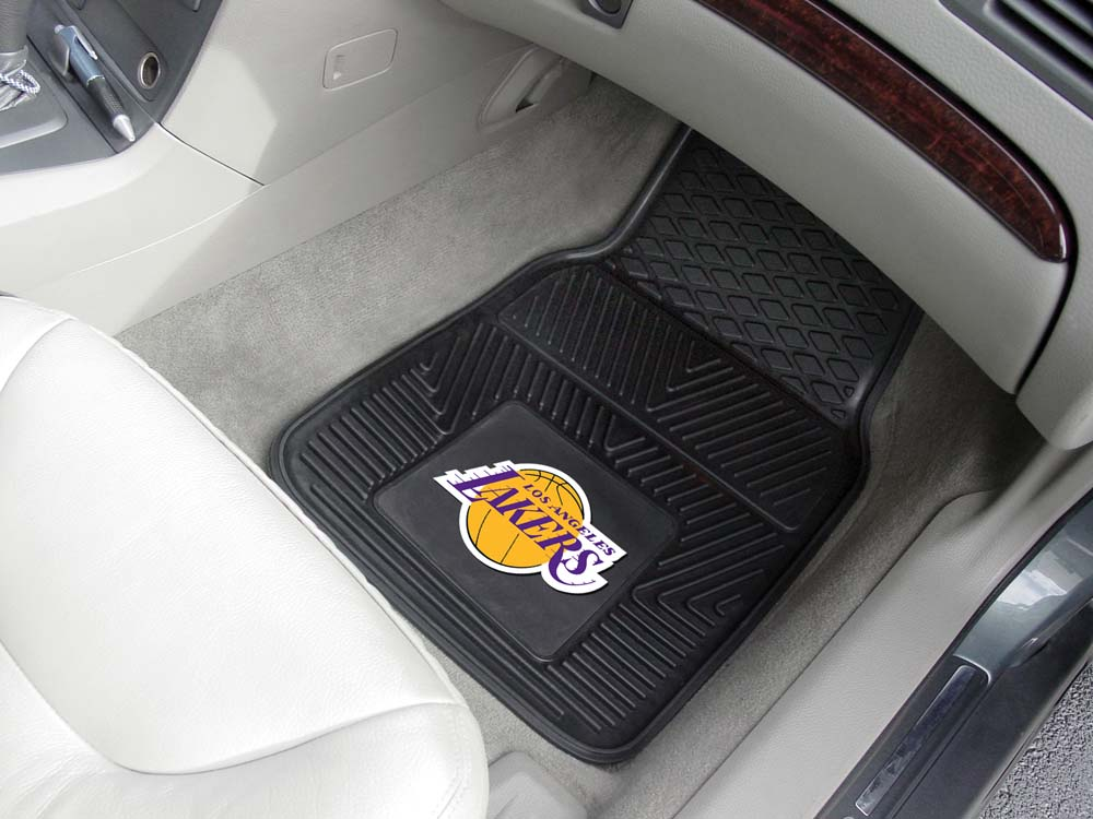 Click here for Los Angeles Lakers 18 x 27 Heavy Duty Vinyl Auto F... prices