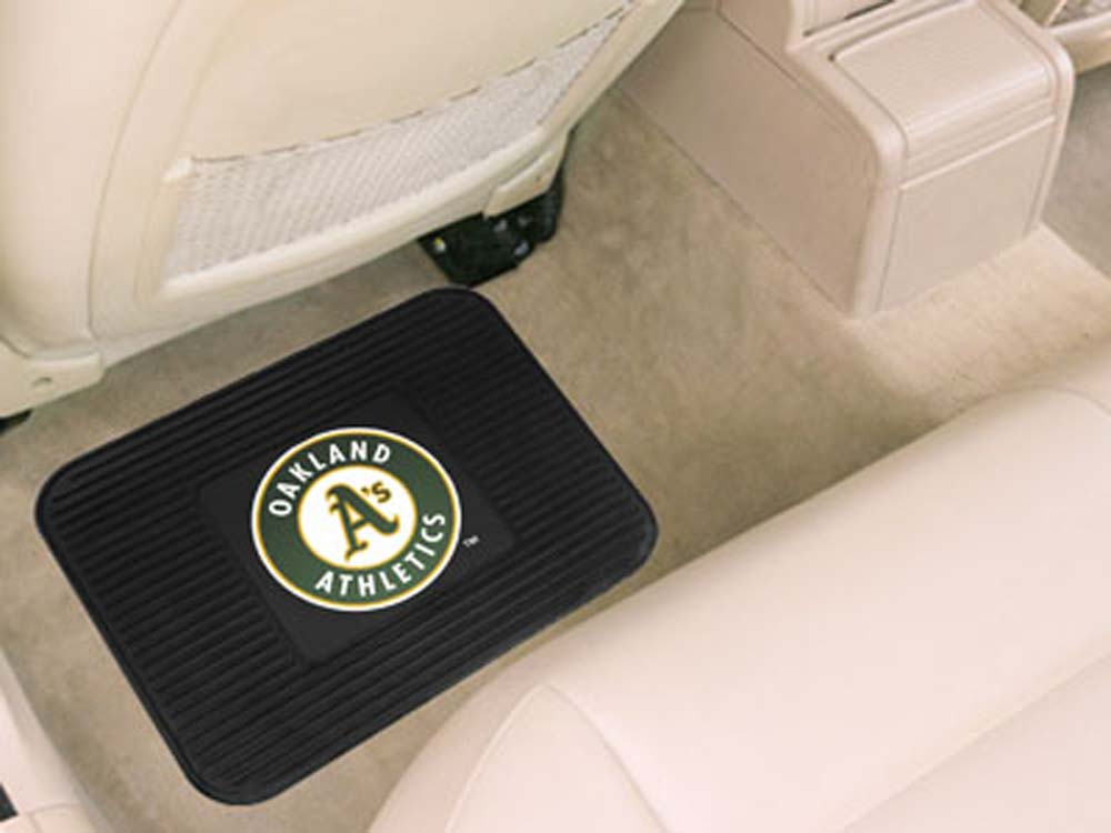 Oakland Athletics 14in x 17in Utility Mat (Set of 2)