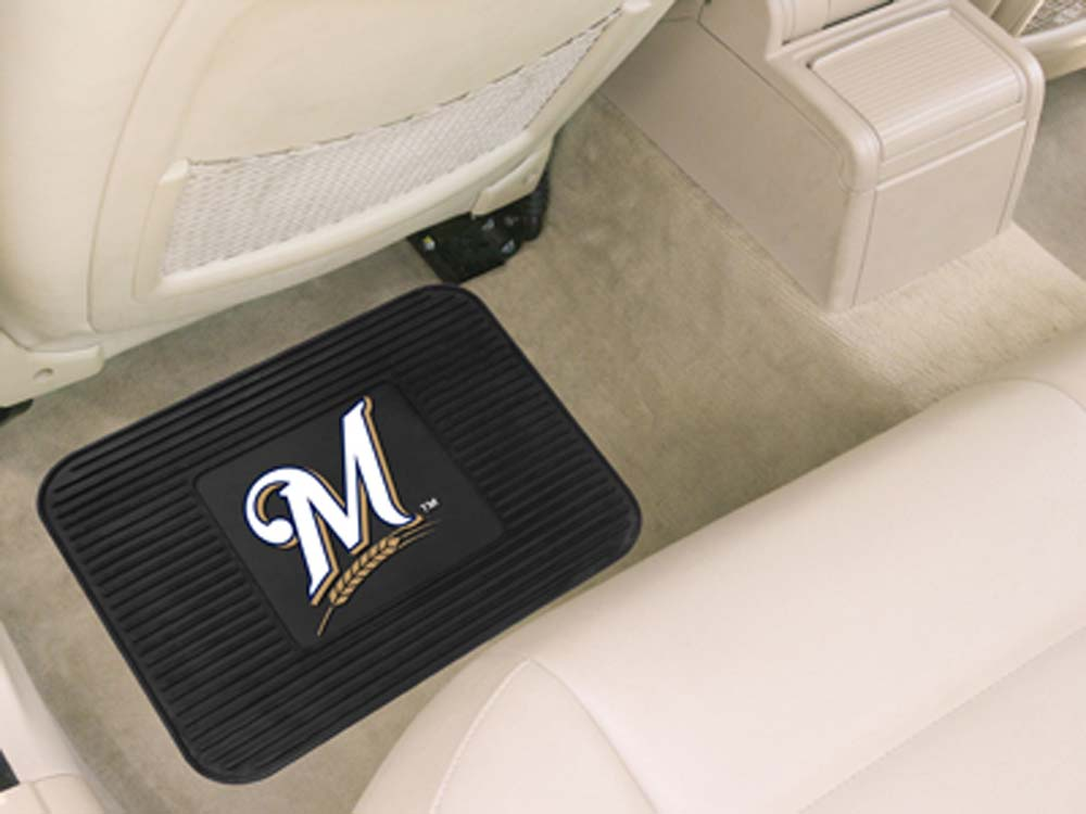 Milwaukee Brewers 14in x 17in Utility Mat (Set of 2)