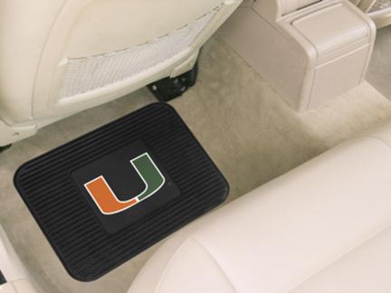 "Miami Hurricanes 14"""" x 17"""" Utility Mat (Set of 2)"" FAN-10077"
