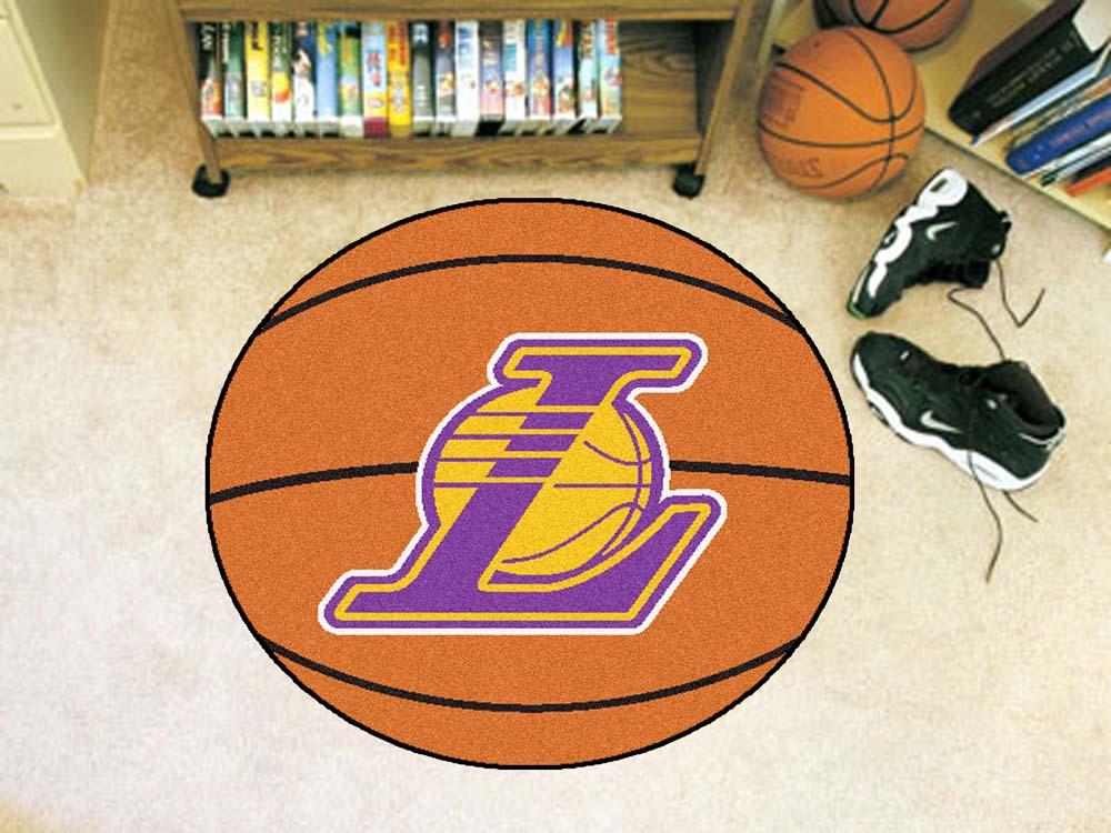 "Los Angeles Lakers 27"" Basketball Mat"