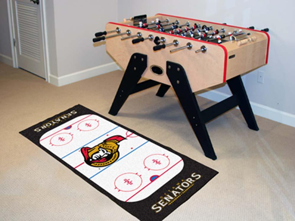 """Ottawa Senators 30"""" x 72"""" Hockey Rink Runner"""
