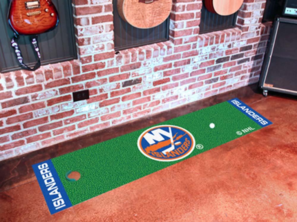 "New York Islanders 18"" x 72"" Golf Putting Green Mat"