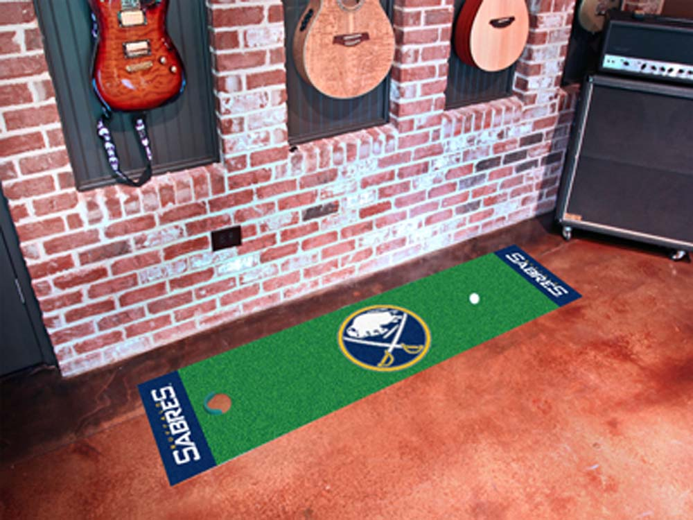 "Buffalo Sabres 18"" x 72"" Golf Putting Green Mat"