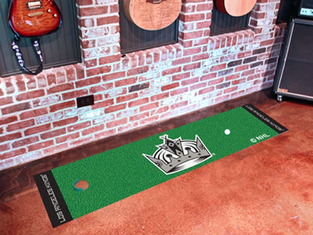 "Los Angeles Kings 18"" x 72"" Golf Putting Green Mat"