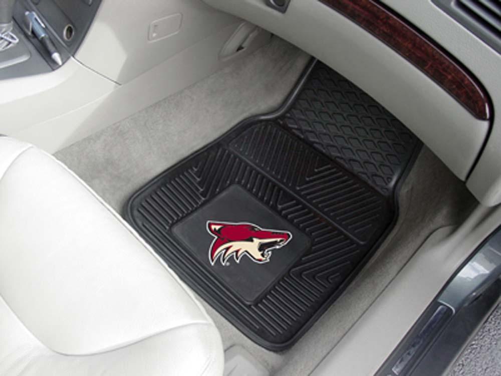 "Phoenix Coyotes 18"" x 27"" Heavy Duty Vinyl Auto Floor Mat (Set of 2 Car Mats)"