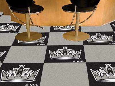 "Los Angeles Kings 18"" x 18"" Carpet Tiles (Box of 20)"