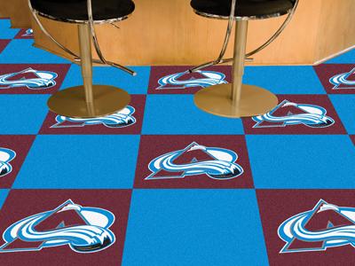 """Colorado Avalanche 18"""" x 18"""" Carpet Tiles (Box of 20)"""