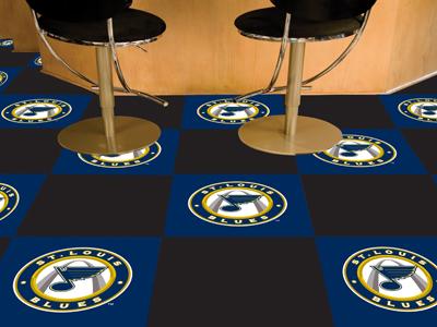 "St. Louis Blues 18"" x 18"" Carpet Tiles (Box of 20)"