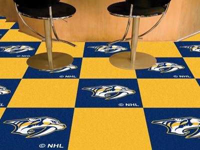 "Nashville Predators 18"" x 18"" Carpet Tiles (Box of 20)"