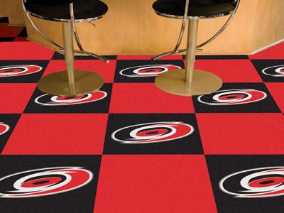 "Carolina Hurricanes 18"" x 18"" Carpet Tiles (Box of 20)"